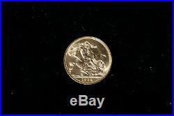 Elizabeth II Moneta Oro Gold One Pound SOVEREIGN 1 Sterlina 1958