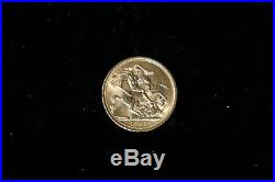 Elizabeth II Moneta Oro Gold One Pound SOVEREIGN 1 Sterlina 1968