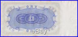 Excelsior Bank (Sydney) ca 1884 One Pound Unissued Remainder MVR# 1 good EF