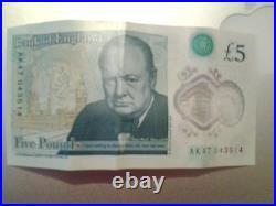 Five pound (£5) AK47