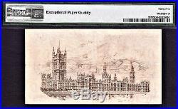 Great Britain & Ireland Treasury 1919 One Pound FISHER Pick-357 VF PMG 35 EPQ