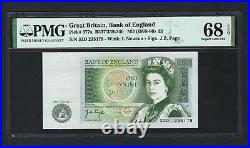 Great Britain One Pound ND(1978-80) P377a Uncirculated Graded 68