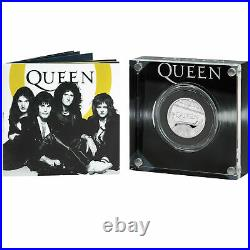 Great Britain UK 2020 £1 One Pounds QUEEN MUSIC LEGENDS 1/2oz Silver Proof Coin