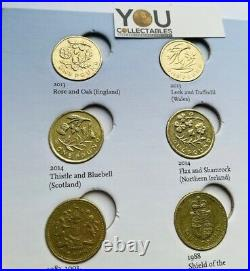 Great British Coin Hunt £1 One Pound Album Full Set COLLECTORS by Royal Mint