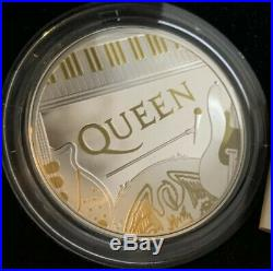 IN HAND 2020 Queen Two Pounds Silver Proof One Ounce Coin Only 7500 Made 1oz £2