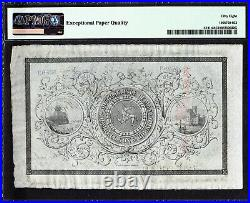 Isle of Man, Dumbell's Banking One Pound 1874-75 Pick-S141r About UNC PMG 58 EPQ
