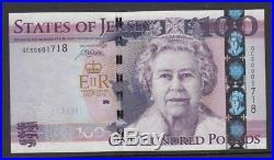 Jersey One hundred pound £100 QE11 Diamond Jubilee UNC (pick 37a coded QE60)