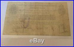 John Bradbury One pound Note 1914