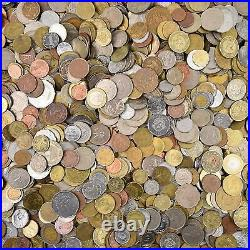 Lot Of Exotic Coins From Asia, Africa, Caribbean & Oceania, South America