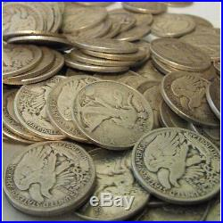 Lowest 5 YR Start One (1) Troy Pound of Mixed US Junk Vintage Silver Coins