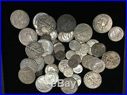 Mega Sale One (1) Troy Pound Lot Bag Mixed 90% Silver Us Mint Coins -no Junk