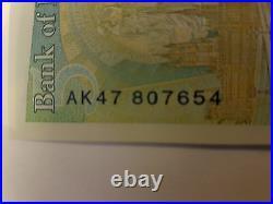 NEW £5 AK47 807654 Rare Five Pound note, fiver, pattern AK47 serial number