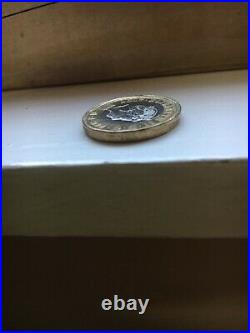New 2017, £1 One Pound Coin Misprint / Very rare / Mint Error 2017 Collectable