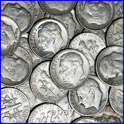 New Sale! 1 Troy Pound Lb 90% Silver Roosevelt Mercury Dimes Coins Us Minted