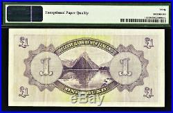 New Zealand 1934 One Pound Pick-155 Very Fine PMG 30 EPQ
