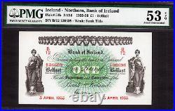Northern Ireland One Pound 3rd April 1933 Pick-51b About UNC PMG 53 EPQ