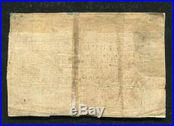 Ny-163 February 16, 1771 1 One Pound New York Colonial Currency Note