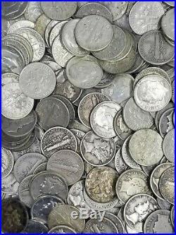 One (1) Troy Pound US COIN Lot No Junk Pre-1965 PLUS BONUS