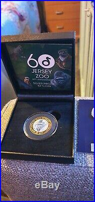 One Day Only Special, Jersey 2 Pound Zoo Coin Rare Plus Extras