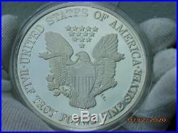 One Half Troy Pound Silver American Eagle 1997 Liberty 6 Unzen oz Silber 999