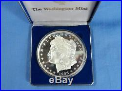 One Pound. 999 Pure Silver Eagle Round 1995 IN CAPSULE WASHINGTON MINT ART #175