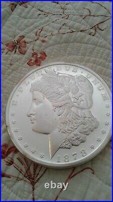 One Pound Silver Morgan