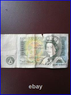 One Pound for sale in your collection