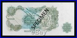 PAGE £1 One Pound banknote HZ63 832726 (B322) UNC