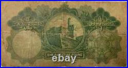 Palestine one Pound note year 1939! VF condition as per image rare note
