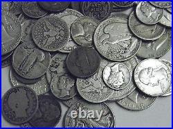 Prepper 1/2 Pound(8 Oz)lots Us 90%&35% Silver Coins Prepper Morgan Dollar