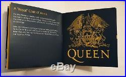 Queen 2020 Gold Proof One Hundred Pounds One Ounce 1oz Coin Music Legends