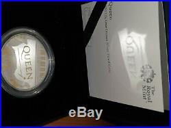 Queen 2020 uk one ounce silver proof 2 pound coin