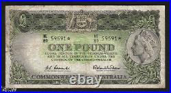 R-34bS. (1961) 1 Pound Coombs/Wilson. STAR Note. Prefix HE/89. Fine