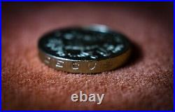 RARE 2015 one pound coin ROYAL COAT OF ARMS 5th portrait old round pound