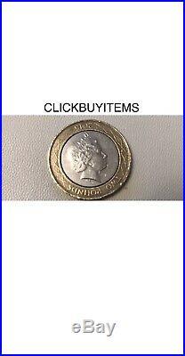 RARE Die Mint Error Miss Strike, New One Pound Coin 2016. 4 Coins See Details 1st