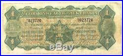Rare 1923 R23 Miller / Collins One Pound Note. H17 Prefix