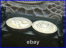 Rare 1983 Royal Arms One Pound Coin Error Decus Et Tutamen Upside Down