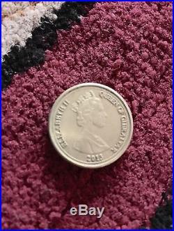 Rare 2013 Neanderthal Gibraltar Skull One Pound Coin