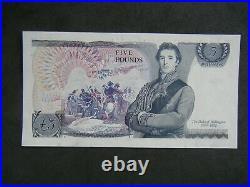 Rare D H F Somerset Five Pound £5 Note (1980) Du55447080 No Signature Error
