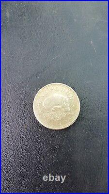 Rare one pound gibraltar 1 coin 2007