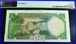 Rhodesia & Nyasaland 1960 ONE POUND PMG 30