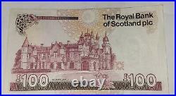 Royal Bank Of Scotland One Hundred Pound Note £100 A/2 473749