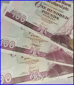 Royal Bank Of Scotland One Hundred Pound Note £100 A/2 910327