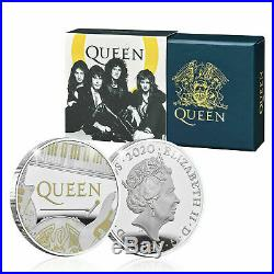 Royal Mint Queen £2 Coin 2020 Limited Edition One Ounce Silver Proof Two Pound