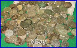 SILVER 1 ONE Troy Pound LB USA with SILVER $ Mixed Silver Coin No Junk Pre-1965