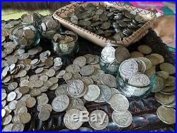 SILVER SALE! 1 One Troy Pound LB U. S. Mixed Silver Coins NO JUNK Huge Lot