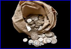 SILVER SALE 1 One Troy Pound LB U. S. Mixed Silver Coins NO JUNK Large Lot