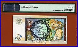 Scotland 10 Pounds Serial 1000000 (One Million) 2007 Pick-226f Ch UNC PMG 64