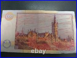 Scottish One Hundred Pound Note £100 Clydesdale Bank 1996 Lord Kelvin