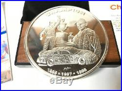 Silver Champion Special Edition Jeff Gordon One Pound Proof Coin With COA #348